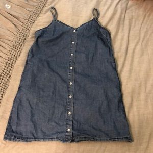 Denim dress from pac sun